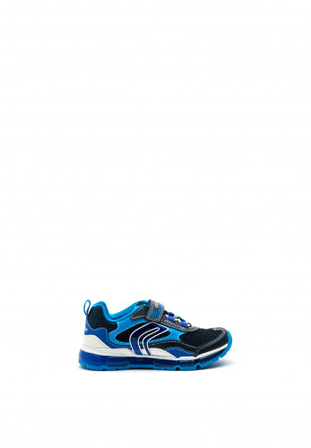 Geox Boys Android Trainers, Navy Blue