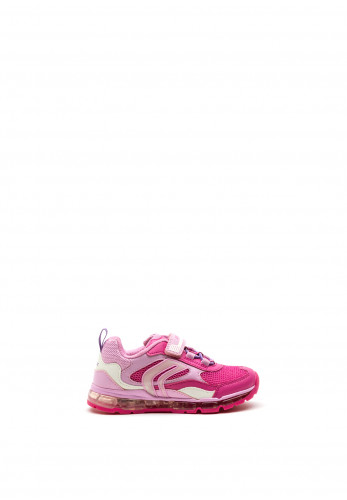 Geox Girls Android Trainers, Pink