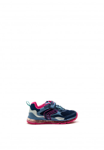 Geox Girls Android Trainers, Navy