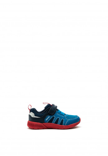 Geox Boys Sveth Runners, Blue Multi