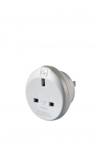 Go Travel Adaptor Plug, Ireland/UK to Americas