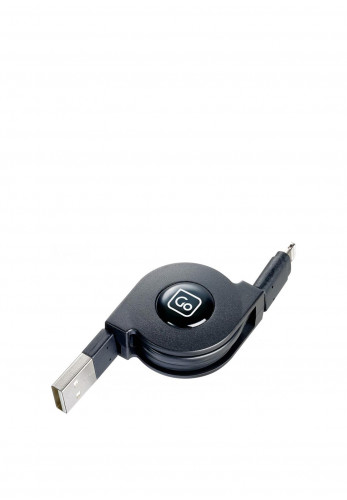 Go Travel USB Retractable Lightning Connector Charge and Sync Cable