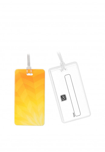 Go Travel Tag Me Luggage Tags, Sunflower Yellow