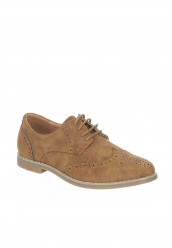 Goor Boys Brogues, Tan