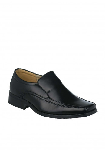 Goor Boys Formal Loafer Shoe, Black