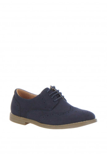 Goor Boys Brogues, Navy