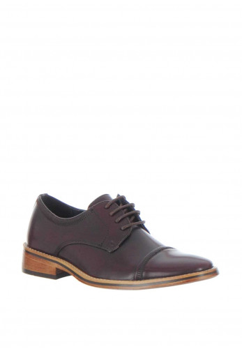 Goor Faux Leather Formal Shoes, OX Blood