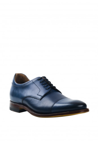 Gordon & Bros Fabien Leather Shoe, Navy
