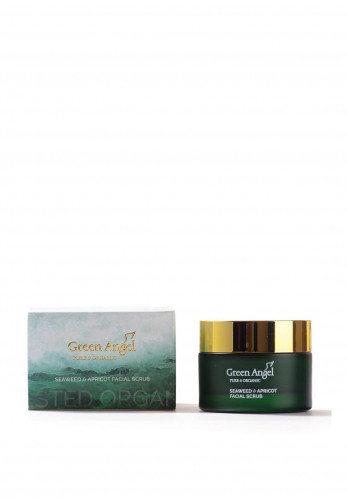 Green Angel Seaweed and Apricot Facial Scrub, 50ml