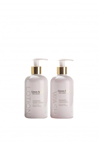 Green Angel Seaweed Hand Lotion and Hand Wash Duo