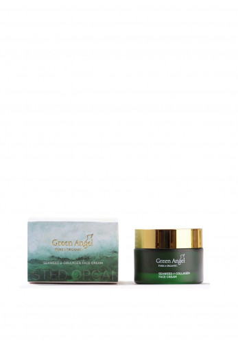 Green Angel Pure & Organic Seaweed & Collagen Face Cream 50ml