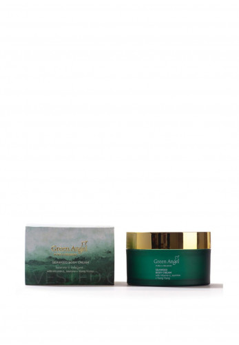 Green Angel Pure & Organic Seaweed Body Cream with Vitamin E, Jasmine & Ylang Ylang 200ml