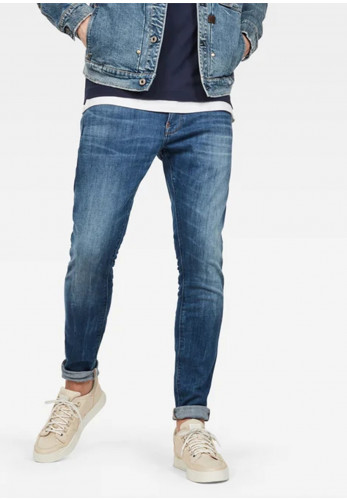 G Star Raw Revend Skinny Jeans, Medium Indigo