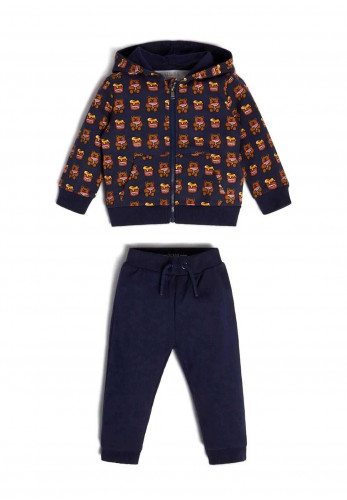 Guess Baby Two Piece Tracksuit Set Gift Box, Navy
