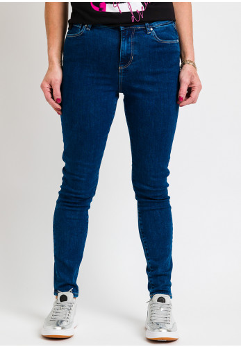 Guess Womens Smart Lush Skinny Jeans, Blue