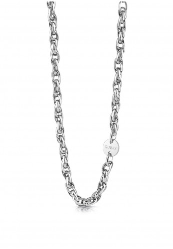 Guess Chain Reaction Necklace, Silver