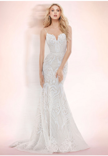 Blush by Hayley Paige 1710 West Wedding Dress, Ivory