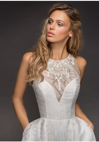 Hayley Paige 6812 Nirvana Wedding Dress, Ivory