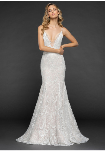 Hayley Paige 6865 Haruki Wedding Dress, Cashmere
