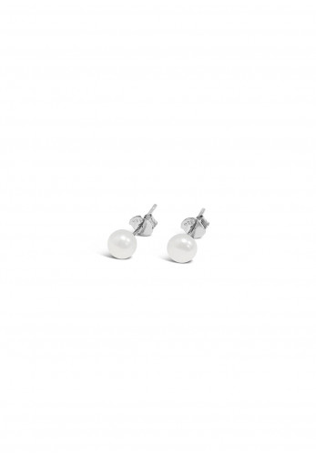 Absolute Kids Small Pearl Stud Earrings, Pearl