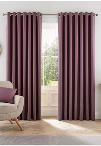 Helena Springfield Eden Ready Made Lined Curtains, Grape