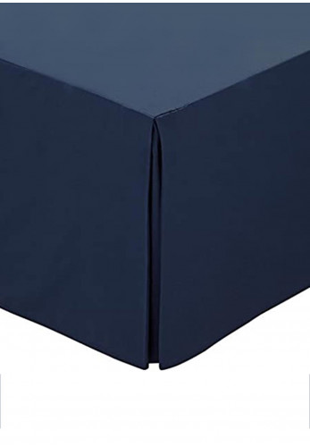 Helena Springfield 180 Thread Count Percale Base Valance, Navy