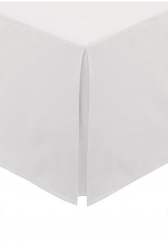 Helena Springfield 180 Thread Count Percale Base Valance, White