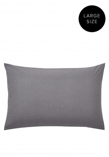 Helena Springfield Large Standard Pillowcase, Charcoal