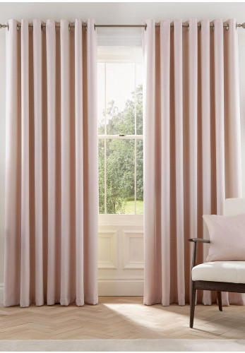 Helena Springfield Eden Ready Made Lined Curtains, Blush