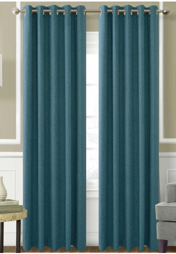 Helena Springfield Eden Ready Made Lined Curtains, Teal