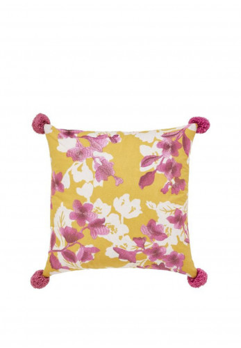 Moda by Helena Springfield Bouvardia 40 x 40cm Cushion, Honey