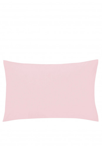 Helena Springfield 180 Thread Court Percale Standard Pillowcase, Blush