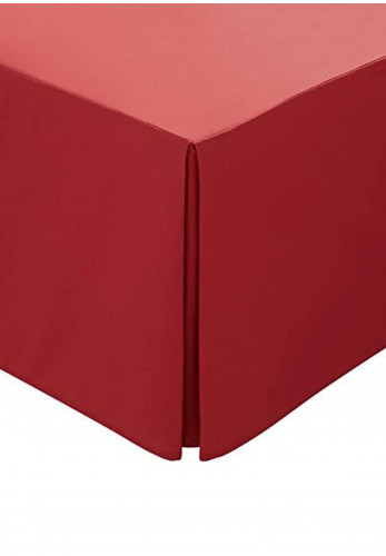 Helena Springfield 180 Thread Count Base Valance, Red