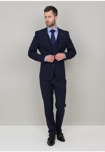 Herbie Frogg Navy Trousers Mix and Match, Tailored