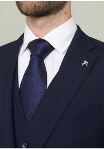 Herbie Frogg Navy Waistcoat Mix and Match, Tailored