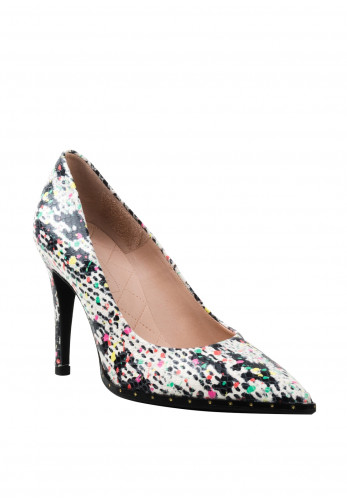 Hispanitas Monochrome High Heel Shoes, Multicolored