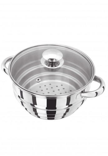 Judge Steamer Multi Insert with Glass Lid