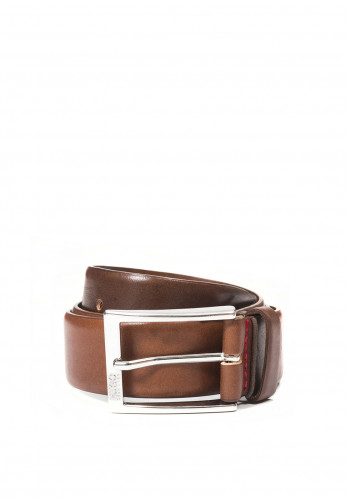 Hugo Boss Men's Gerron Belt, Tan Brown
