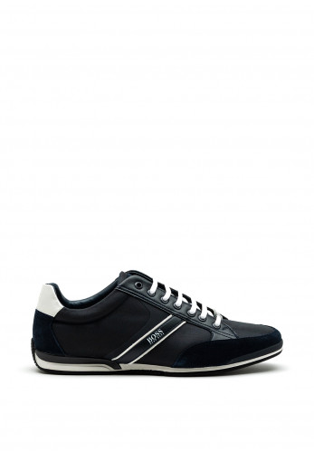 Hugo Boss Saturn Low Profile Trainers, Navy
