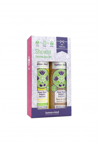 Human and Kind Shower Mousse Duo Set