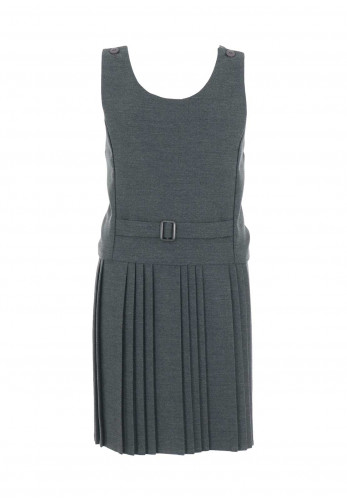 Hunter Girls Grey School Pinafore