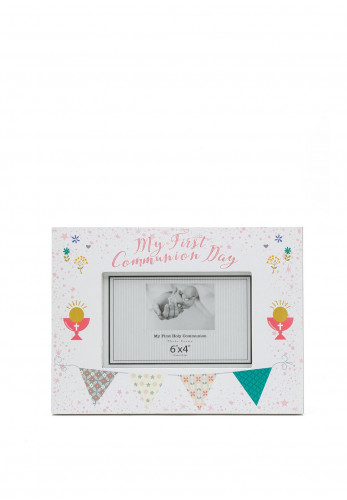 My First Holy Communion Day Girl Landscape Frame, 6x4