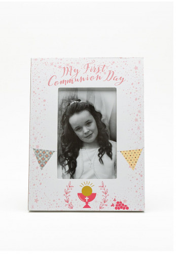 My First Holy Communion Day Girl Portrait Frame, 6x4