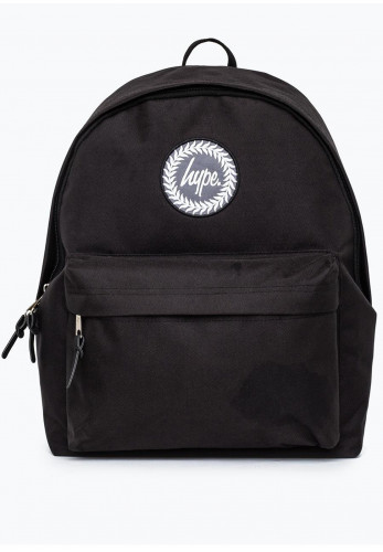 Hype Holo Crest Backpack, Black