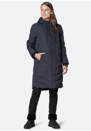 Ilse Jacobsen Peppy Down & Feather Padded Quilted Coat, Navy