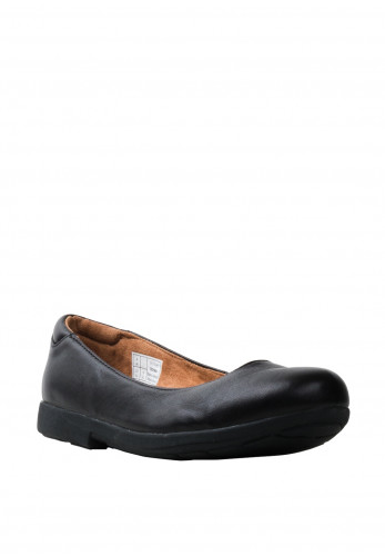 Strive Royan Leather Slip On Pumps, Black