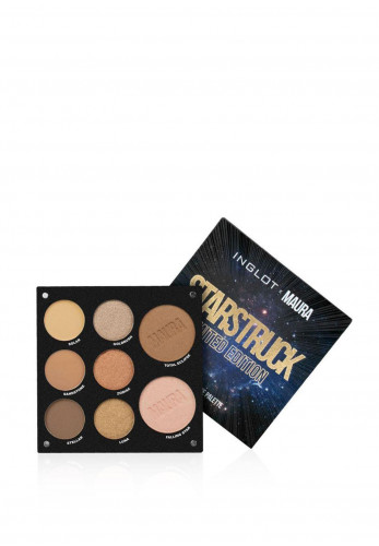 Inglot x Maura Starstruck Eye Shadow and Face Palette
