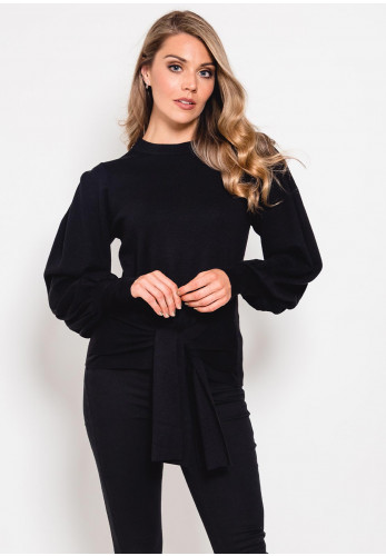 Inwear Sammy Tie Knit Jumper, Black