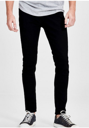 Jack & Jones Liam Skinny Fit Jeans, Black