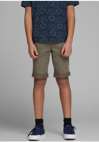Jack & Jones Boys Jienzo Chino Shorts, Olive
